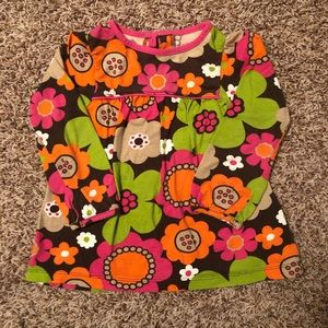 Carter's Cute Comfortable shirt with flowers